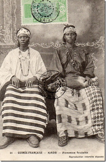 Adire African Textiles Guinea Conakry Fashion 1900