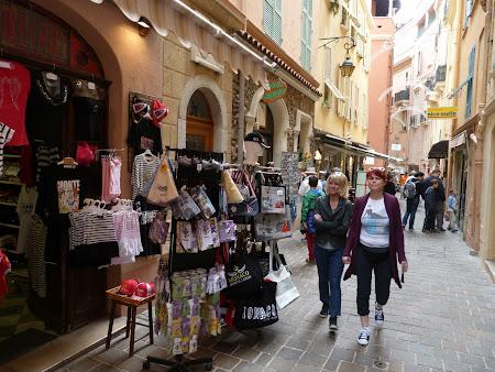 Obiective turistice Monaco: stradutele din Monte Carlo