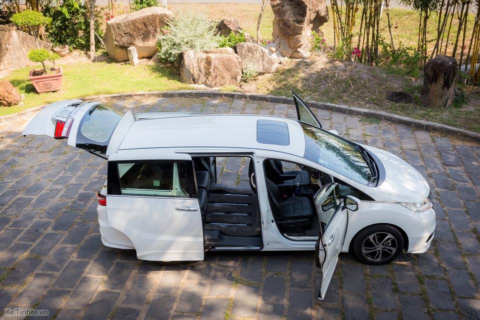 Đánh giá xe Honda Odyssey 7 chỗ 3