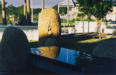 'Stillwater' + 'Rocksack' © Hew Chee Fong + L.M.Noonan 1999