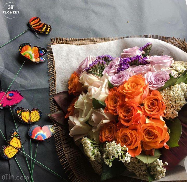 Bướm đang bay bên hoa Để đảm bảo chất lượng Shop xin
