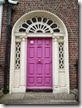 Dublín. Puerta Georgiana en el Área Sur Gregoriana - P5091072
