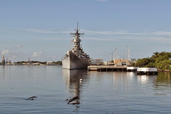 密蘇里戰艦,象徵全新的開始