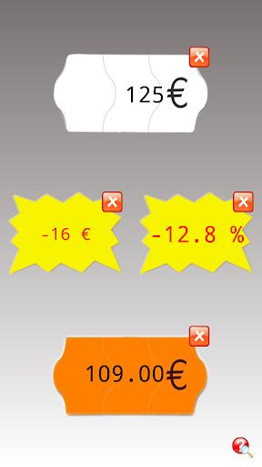 Calculatrice soldes Multi