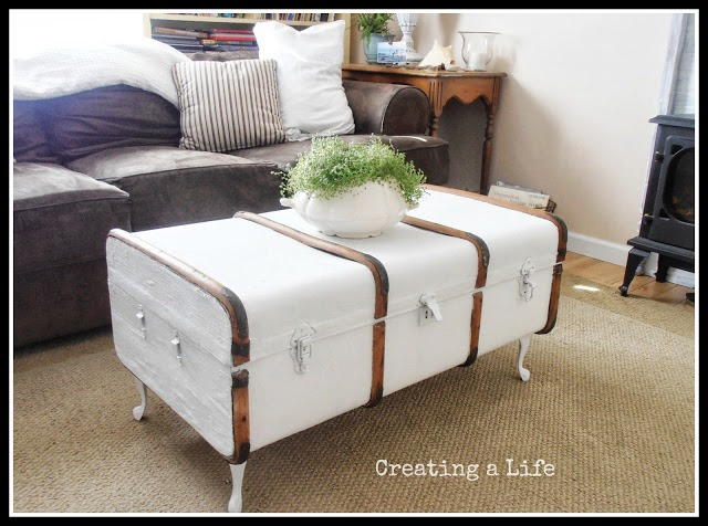 Vintage Trunk Coffee Table 5