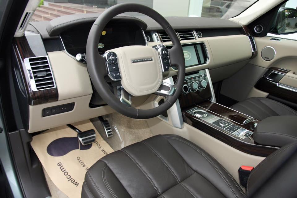 Nội thất xe Range Rover Vogue 05