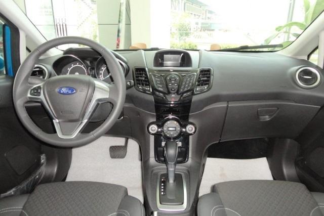 Nội thất xe Ford Fiesta All New Model 01