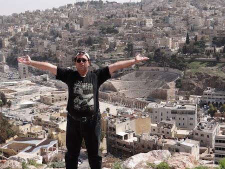 Obiective turistice - Iordania: Citadela Amman