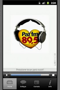 Radio Paz FM 89,5 - screenshot thumbnail