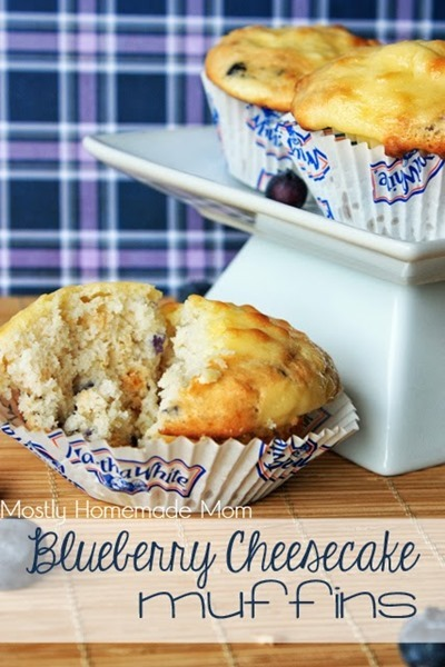 Blueberry Cheesecake Muffins 1