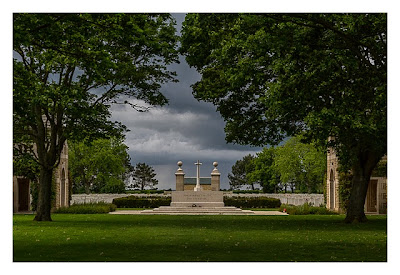 Östliche Landungsstrände - Beny sur Mer - Kanadischer Soldatenfriedhof