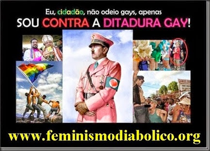 DITADURA GAY BANNER DO SITE FEMINISMO DIABOLICO