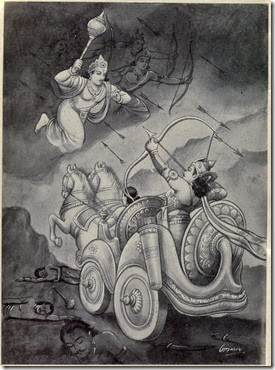 Arjuna_battles_with_Chitra_Sena