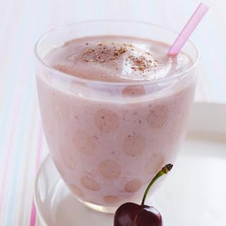 Frozen Cherry Vanilla Smoothie.