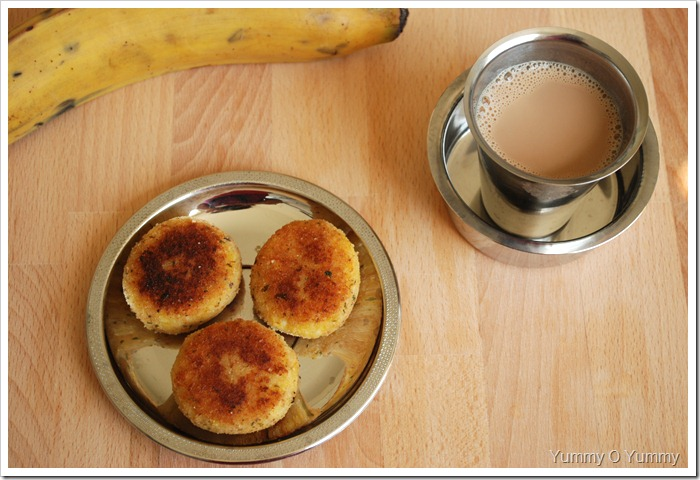 Ripe Banana Cutlet / Ethapazham Cutlet