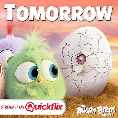 AngryBirdsMovie is hatching TOMORROW on Quickflix