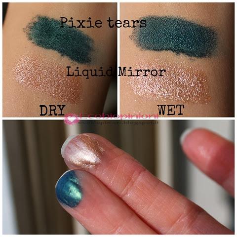 Pixie tears e liquid mirror