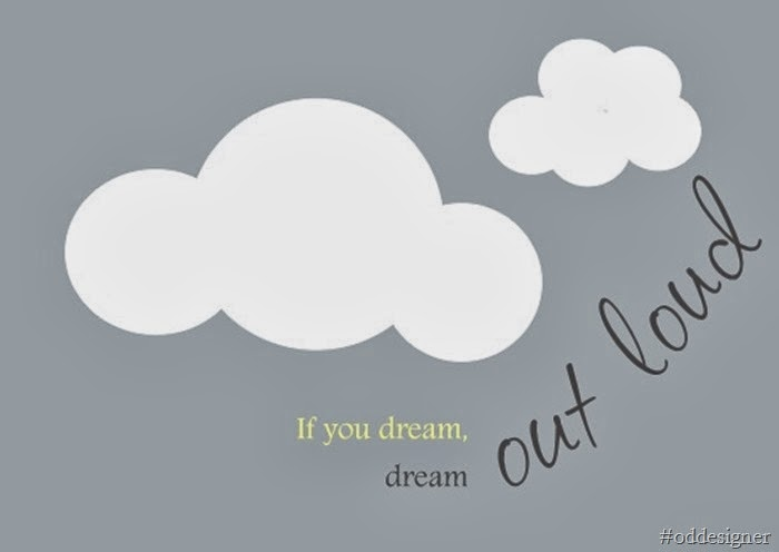 poster dream out loud