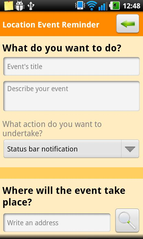 Location Event Reminder TRIAL - screenshot