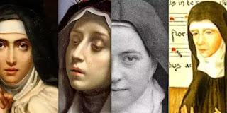 Bốn vị thánh nữ tiến sỹ Hội thánh, có nhiều ảnh hưởng
