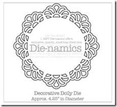Decorative Doily Die-namics