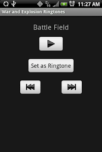 WEAPONS RINGTONES - screenshot thumbnail