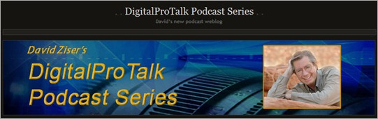 DigitalProTalk Podcast series logo