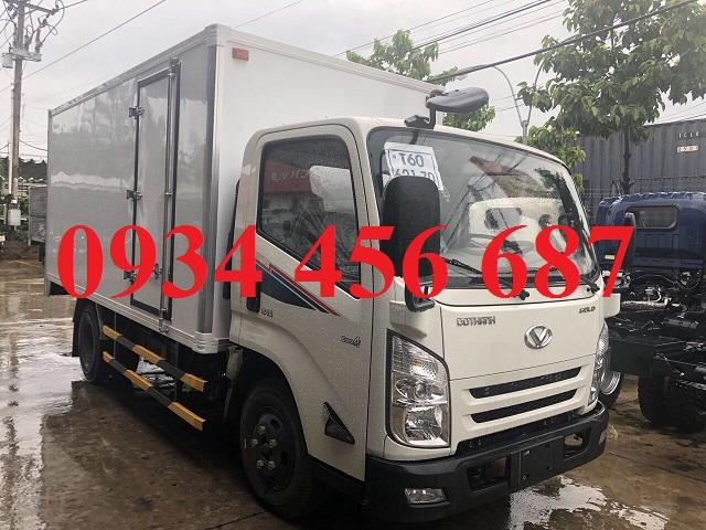 Xe tải 3.5 tấn Đô Thành IZ65 thùng bảo ôn đông lạnh