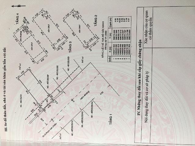 Bán nhà hẻm Phạm Văn Chiêu Quận Gò Vấp, Dt 4x12, 1 trệt 3 lầu - 6