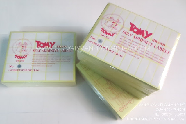 Giấy decal Tomy