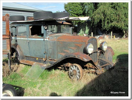 This was driven here 10 years ago and is next in line for restoration.