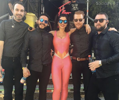 The last FROOT show in Chile with my brilliant band It's been a whirlwind