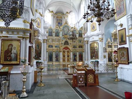 Imagini Belarus: interior catedrala ortodoxa