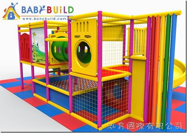 BabyBuild 室內3D泡棉鋼管遊戲設施