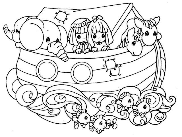 Pintar El Arca De Noe