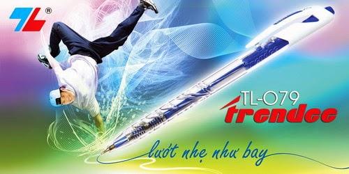 Bút bi viết tốc ký Thiên Long TL079 Trendee