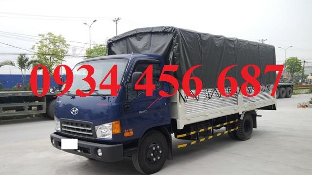 Hyundai HD120s Đô Thành thùng bạt