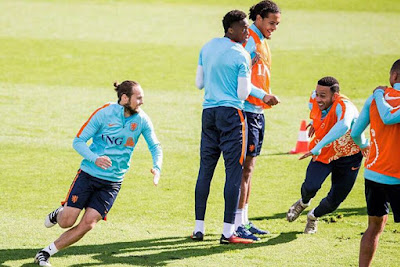 Good session today Looking forward to the upcoming games ???? Oranje