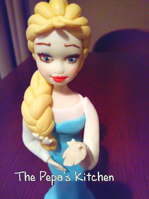 Modelado de Frozen en fondant