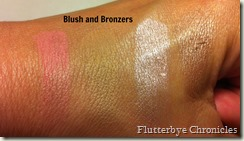 Blush and Bronzer