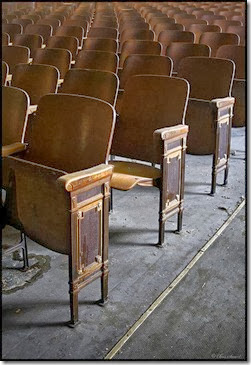Old Theater Chairs