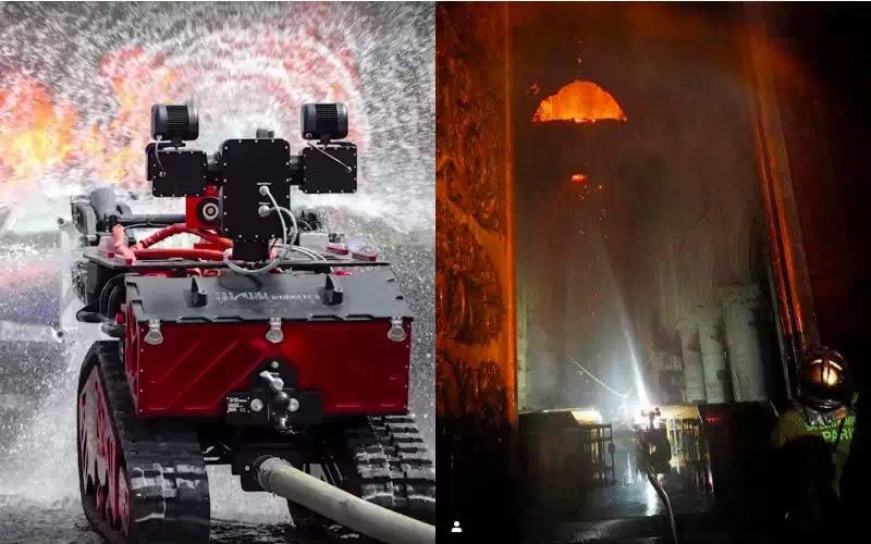 Con robot đã giải cứu nhà thờ Đức Bà Paris (Notre Dame)