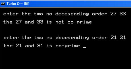 Print Number Series in C