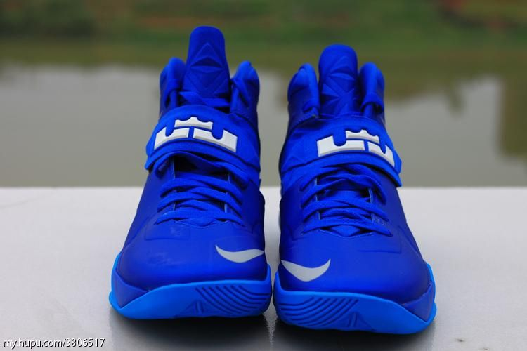 more photos 7b58c 1584e ... Sample Look at Nike Zoom Soldier VII 7 Dyed in Royal Blue ...