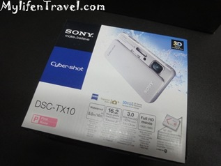 Sony Cybershot TX10 Camera 02