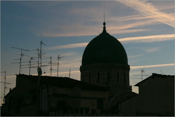 Dome after sunrise