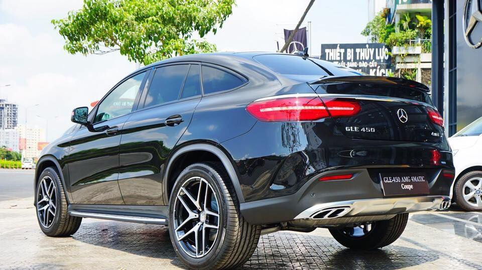 Xe Mercedes Benz GLE 450 2017 Coupe 09