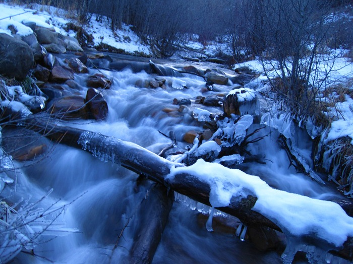 river in Provo Canyon Utah