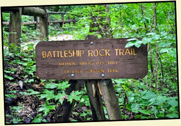 01 - Battleship Rock Trail Sign