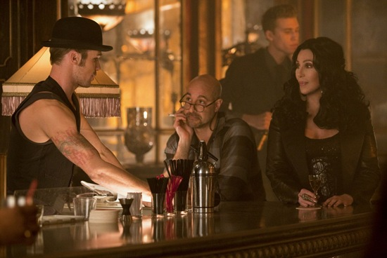 Cam Gigandet, Stanley Tucci and Cher star in Burlesque